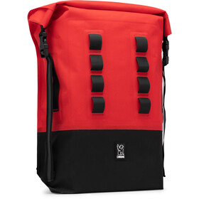 Chrome Urban EX Rolltop Rucksack 28l red/black